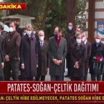 Erdoğan'a verilen çiçeğin perde arkası ortaya çıktı