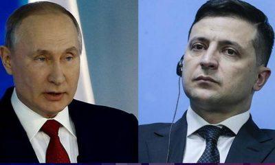 Ukrayna lideri Zelenskiy'den Putin'e Donbass'ta görüşme teklifi