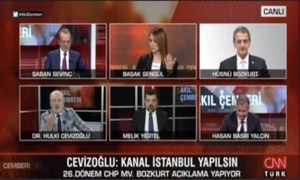 Hulki Cevizoğlu ve Hüsnü Bozkurt canlı yayında tartıştı