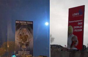 MHP'li belediye lösemili çocuklar için asılan afişleri kaldırttı
