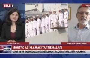Emekli Amiral Çetin: Emekli askerler balık oltalarıyla mı darbe yapacak?