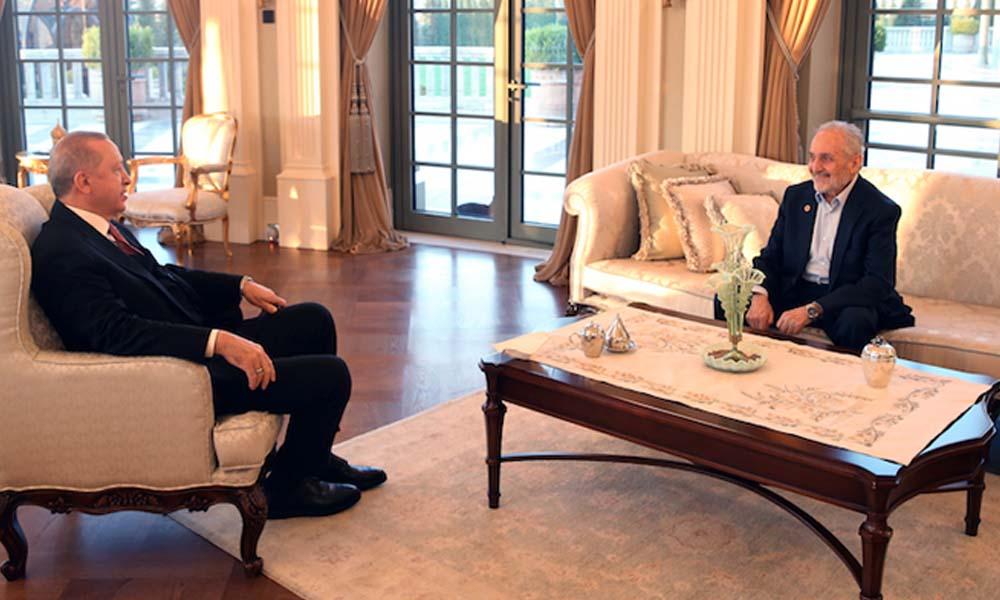 Erdoğan Oğuzhan Asiltürk ile iftar yaptı
