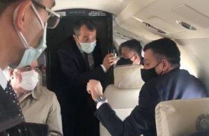 Bakan Pakdemirli'nin uçağı havada arızalandı