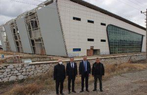 AKP'li belediyenin 25 milyonluk spor salonu harabeye döndü
