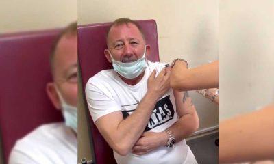 Hemşireden koronavirüs aşısı olan Sergen Yalçın'a: Şaka mısınız?