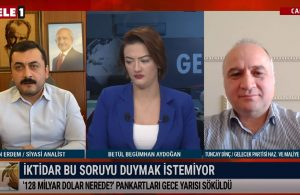 Gelecek Partili Dinç: AKP bir finansal kurnazlık yapmaya çalıştı ve bu kurnazlığı yaparken yakalandı