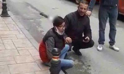 Saldırıya uğrayan 17 yaşındaki gencin kafasına bıçak saplandı
