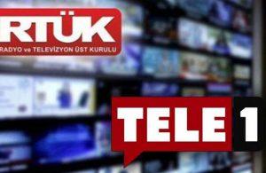 RTÜK'ten TELE1'e bir ceza daha