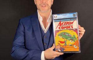 Süpermen çizgi romanı 26.5 milyon liraya satıldı