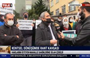 Rant karşıtlarına silah çekilmişti! Mahalle sakinleri TELE1'e konuştu: Mülkiyet hakkının üzerinde bir hak olamaz