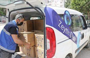Mudanya'da ramazan paketleri ihtiyaç sahiplerine ulaşıyor
