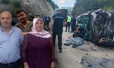 Feci kaza: Bir aile yok oldu