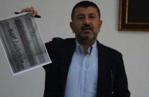 CHP'li Ağbaba, AKP'li belediyenin Almanya'ya gönderdiği ve geri dönmeyen kişilerin listesini paylaştı