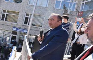 Yolsuzlukla suçlanan MHP'li başkan balkondan seslendi: İstifa isteyenler avcunu yalasın