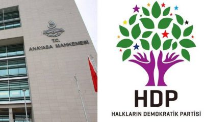 AYM, HDP iddianamesini Yargıtay'a iade etti