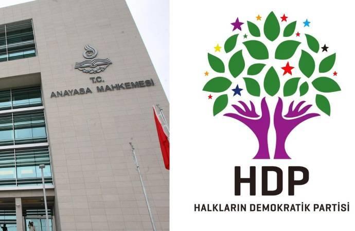 AYM, HDP iddianamesini Yargıtay Başsavcılığı'na iade etti