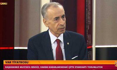 Mustafa Cengiz: Futbolcuların haysiyet ve şereflerini hatırlamaları gerek