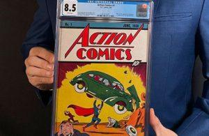 Süperman çizgi romanı 3,25 milyon dolara satıldı