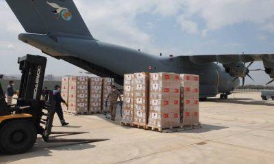 Libya'ya gönderilecek 150 bin doz aşı yola çıkıyor
