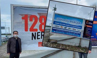 Polis, CHP'nin '128 milyar dolar nerede' afişlerini söktü