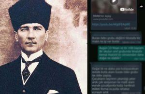 Okulun WhatsApp grubunda Atatürk'e hakaret eden veli, gözaltına alındı