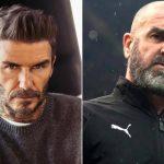 David Beckham ve Eric Cantona'dan 'Avrupa Süper Ligi' tepkisi