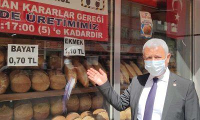 Kriz derinleşti: Karabük'te fırında bayat ekmek