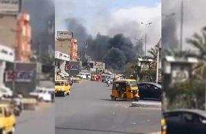 Bağdat'ta bomba yüklü araç patladı