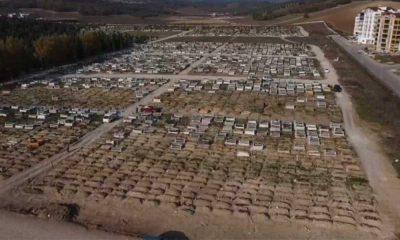 Bursa'nın en büyük kent mezarlığında yer kalmadı
