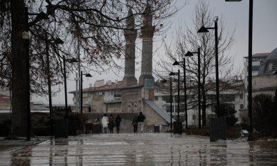Sivas'ta dolu yağışı etkili oldu