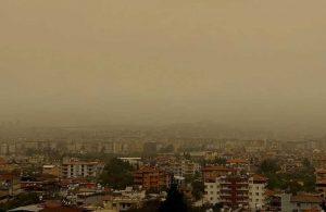 Buralarda yaşayanlar dikkat! Meteoroloji'den iki bölgeye toz taşınımı uyarısı