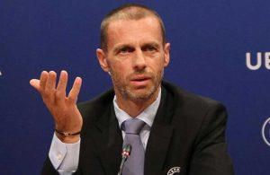 UEFA Başkanı Ceferin'den İstanbul açıklaması