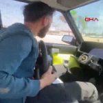 Seyir halindeyken aracın direksiyonunu çıkartmıştı! 'Şaka gibi' ceza aldı