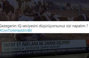 CNN Türk'ün 'yapay et' haberi sosyal medyada tepki topladı