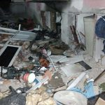 Ankara'da binanın kömürlüğünde patlama; İki kişi yaralandı