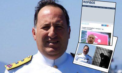 Emekli amirallerin gözaltına alınmasını Yunan medyası sevinçle karşıladı