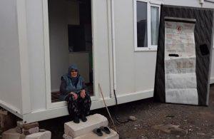 93 yaşındaki depremzede karanlığa mahkum edildi