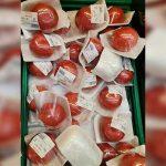 Bunu da gördük… Türkiye'de domates tane tane satılmaya başladı