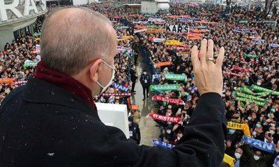 Erdoğan: Temizlik, maske ve mesafe kurallarına riayet ederek bu hastalığın üstesinden geleceğiz