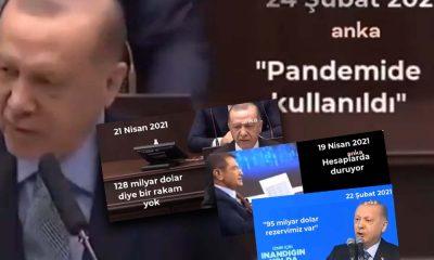 İşte Erdoğan ve AKP'lilerin çelişkili '128 milyar dolar' açıklamaları