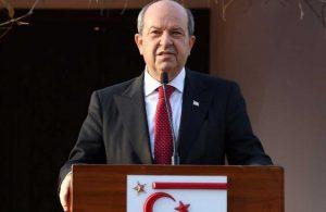 Cenevre toplantısı öncesi Ersin Tatar'dan dikkat çeken çıkış