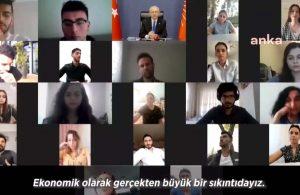 Esnaf çocuklarıyla görüşen Kılıçdaroğlu: Saray'lı onlara kefen edebiyatı yapadursun