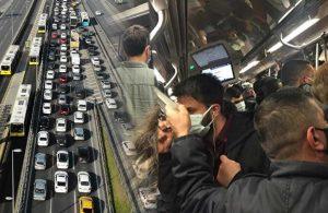 Bu nasıl kapanma: Trafik kilit, metrolara yoğunluktan ek sefer