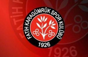Fatih Karagümrük'te Galatasaray maçı öncesi 2 futbolcu koronavirüse yakalandı