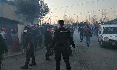 Ataşehir'de çatı yangını