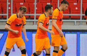 Galatasaray, 3 puanla döndü