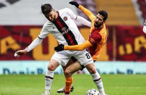 Galatasaray'a şampiyonluk yolunda ağır darbe