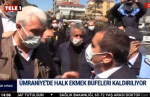 AKP'li belediyenin engellerine rağmen Halk Ekmek büfesi yerine yerleştirildi
