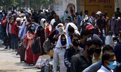 Hindistan'da koronavirüs vaka sayısında küresel rekor