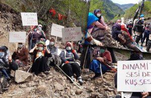 İkizdere'de köylülerin direnişi sürüyor: Müteahhitin değil, bizim askerimizsin